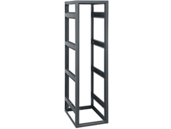 "Middle Atlantic BGR-4538LRD - 45 Space 38"" Deep Standand Alone Rack Less Rear Door, Black"