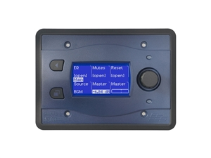 BSS BLU-10-BLU, Touch screen programmable remote wall controller (Blue)