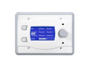 BSS BLU-10-WHT, Touch screen programmable remote wall controller (White)