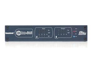 BSS BLU-50, Networked signal processor, 4 analog input, 4 analog output, w/ BLU link