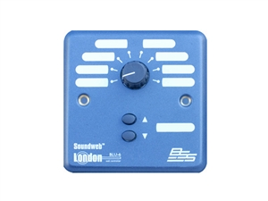 BSS BLU-6, 8 position source/preset selector, up/down pair (UK) wall controller