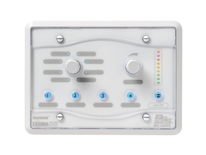 BSS BLU-8-V2-WHT, Programmable zone controller (White)