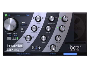 Boz Digital Imperial Delay - Powerful delay plug-in