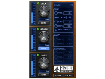 Boz Digital Sasquatch - redesign the sound of your Kick drum