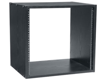 Middle Atlantic BRK12   12 Space 18 in  deep Black Laminate Rack