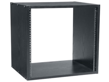 "BRK12-22 - 12 SPACE (21""), 22"" DEEP BLACK LAMINATE  RACK, Middle Atlantic"