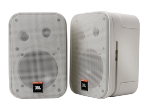 JBL C1PRO-WH - Compact Size Two-Way speakers, white (pair)
