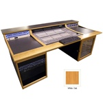 Sound Construction C|24WR1-2 Oak - Avid C|24 Custom Console Editing Desk