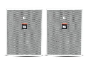 "JBL C25AV-LS-WH - Premium 5.25"" two-way speaker, white (pair)"