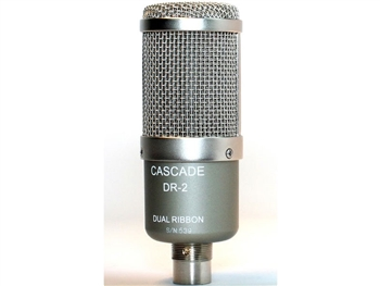 Cascade Microphones DR-2 Dual Ribbon Microphone