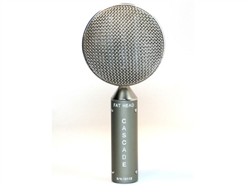 Cascade Microphones FAT HEAD BE (Grey Body/Silver Grill)