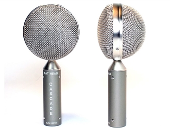 Cascade Microphones FAT HEAD BE Stereo Pair (Grey Body/Silver Grill)