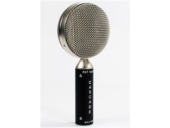 Cascade Microphones FAT HEAD (Black Body/ Silver Grill) Ribbon Microphone
