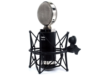 Cascade Microphones FAT HEAD II w/Lundahl Trans (Black Body/ Nickel Grill) Ribbon Microphone