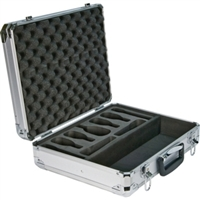 Audix CASE DPA Heavy duty, reinforced aluminum flight case. Holds a variety of 9 mics plus accessories