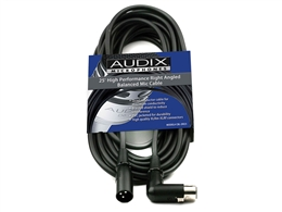 AUDIX CBL-DR25 Microphone Cable, 25 Ft.