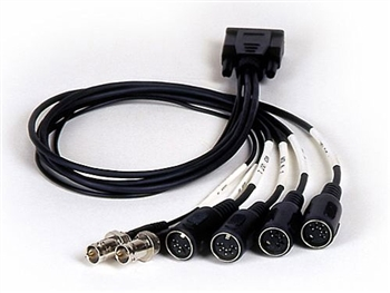 Lynx CBL-L1IO LynxONE MIDI/Sync Cable. HD-15 To DIN MIDI and BNC Clock Cable,Lynx
