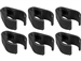 CC-6, package of 5, mic stand cable clips, Windtech