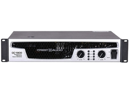 Crest Audio CC1800, CC Series Stereo Power Amplifier, 900 Watts Per Channel at 2 Ohms