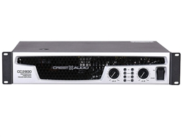 Crest Audio CC2800, CC Series Stereo Power Amplifier, 1400 Watts Per Channel at 2 Ohms