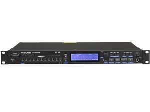 Tascam CD-500B Professional CD Player, balanced outputs