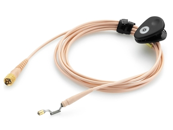 DPA CH16F10 - d:fine Headset Microphone Cable, Beige, Hardwired TA-4F Connector for Shure Wireless