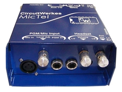 Circuit Werkes MicTel Portable Mic/line Amp and Telephone Interface