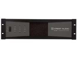 Crest Audio CKi 800V, CKI Series Stereo Power Amplifier, 400 Watts Per Channel at 70 Volts, Sequential Turn-On/Off