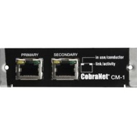 Electro-Voice CM-1, CobraNet module - All Channels fully licensed