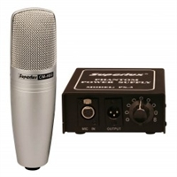 Superlux CM-H8G Studio Tube Mic with 9 selectable patterns