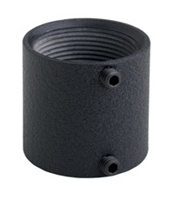 Chief CMA270, Threaded Pipe Coupler, Black