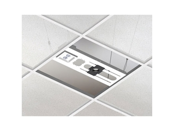 "Chief CMA443 - Above Tile Suspended Ceiling Kit & 3"" Fixed Pipe"