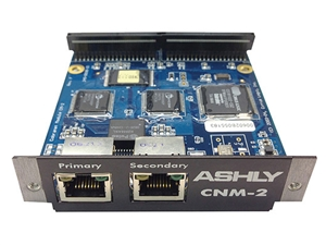 Ashly CNM-2 - Option Card (CobraNet Digital Interface) factory installed