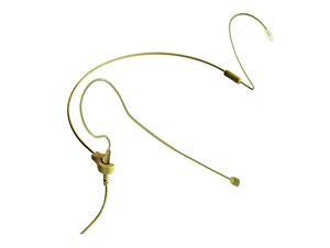 Point Source Audio CO-3-KIT-AK-BE, Beige Omni Earset Mic, 3-pin mini for AKG