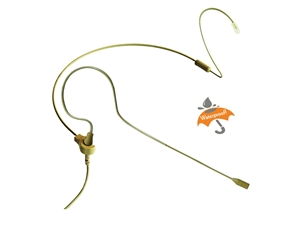 Point Source Audio CO-5W-KIT-AK-BE, Beige Omni Earset Mic, Waterproof, 3-pin mini for AKG