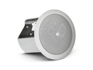 JBL CONTROL 14C/T - Two-Way 100 mm Co-axial Ceiling Loudspeaker, white