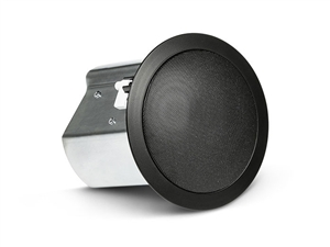 JBL CONTROL 14C/T-BK - Two-Way 100 mm Co-axial Ceiling Loudspeaker, black
