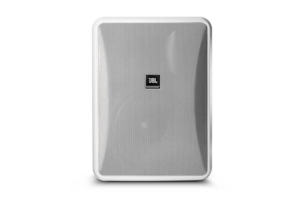 "JBL CONTROL 28-1-WH, 8"" 2-WAY SURFACE-MT Speaker, White"