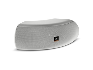 "JBL CONTROL CRV-WH - Curved-Design Dual 4"" Speaker, white"