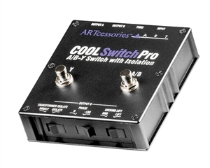 ART Audio CoolSwitchPro - Isolated A/B-Y Switch