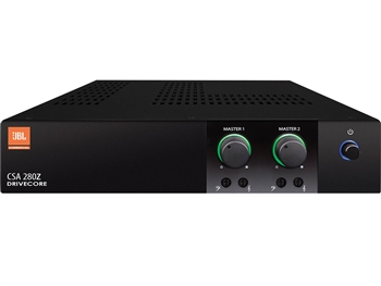 JBL CSA 280Z - 2x80W Commercial Amplifier. 70/100V