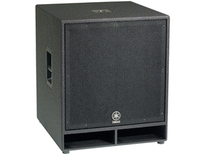 "Yamaha CW118V - Single 18"" Passive Subwoofer"