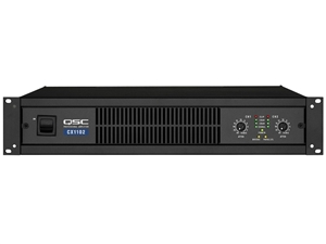 QSC CX302V, 2-Channel Powered Amplifier, 200W, 70V Output