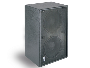 "Bag End D12E-I  Black Painted Double 12""  Subwoofer Installation Enclosure"