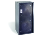 Bag End D18E-I - Black Painted Double 18 Installation Enclosure