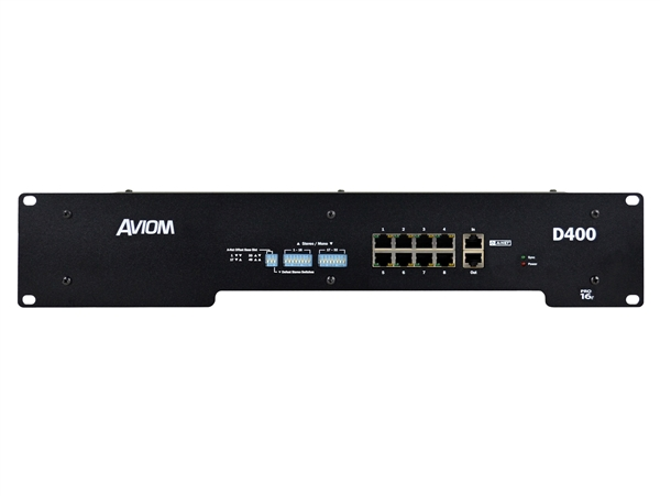 Aviom D400 - A-Net Distributor
