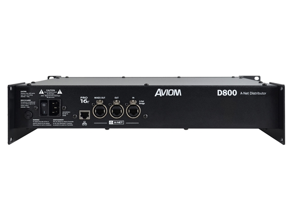 Aviom D800 - A-Net Distributor, with A-Net Bridge input
