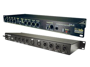 Whirlwind DA2 - Distribution Amp, Line-level inputs