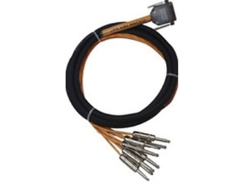 Rapcon Horizon DA88-3S, 8-Channel DB25 to 1/4-inch TRS Cable - 3 Ft.