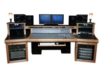 Sound Construction DCOM24WR/1-2, D-Command 24 Wing/Top Rack 1-2 Desk